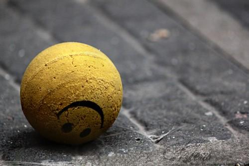 riure per no ploure