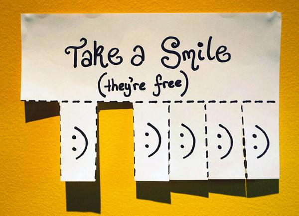 sonria por favor